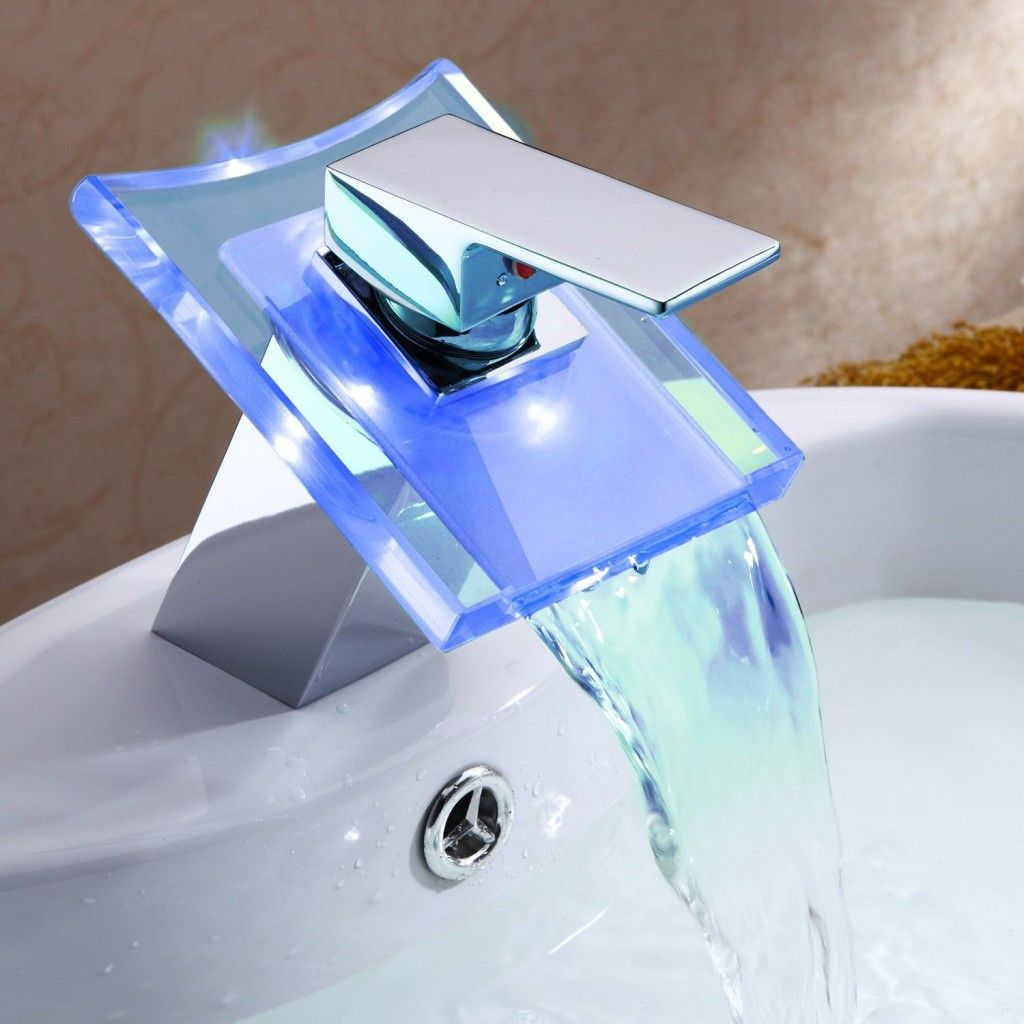 Lightinthebox deck mount single handle waterfall faucets are multi ...