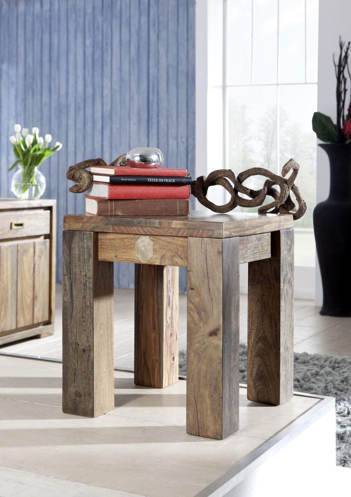 I Massivholzmobel Versandkostenfrei Bestellen Hocker Echtholz Mobel Holz