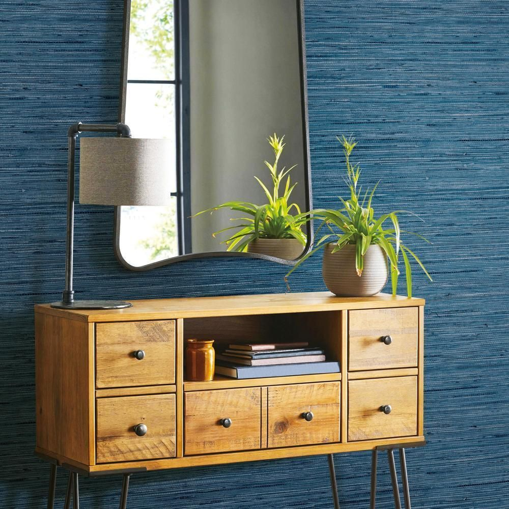 Faux Grasscloth Peel And Stick Wallpaper Roommate Decor Peel And Stick Wallpaper Grasscloth