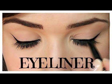 how to apply eyeliner  pencil cream/gel liquid