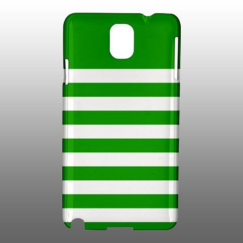 Green Stripes Samsung Galaxy Note 3 Case Cover