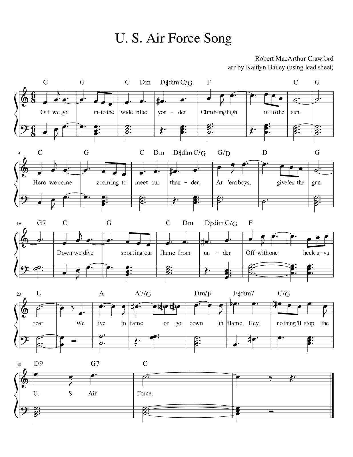 Image Result For Air Force Official U S Air Force Song