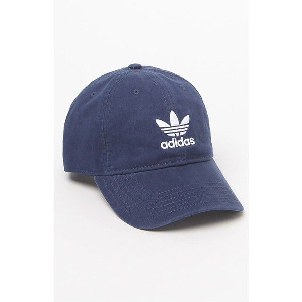 Adidas Washed Canvas Cap (31 AUD) ❤ liked on Polyvore featuring  accessories eb1396192b9