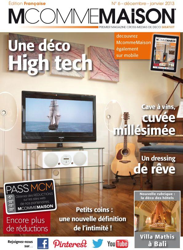 Découvrez le numéro 6 du webzine gratuit et interactif McommeMaison - Magazine Deco Maison Gratuit