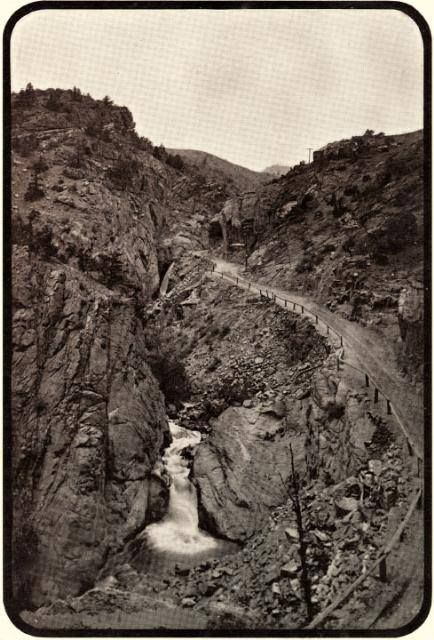 Up Ute Pass ~ Manitou Springs Colorado ~ 1902 #manitousprings
