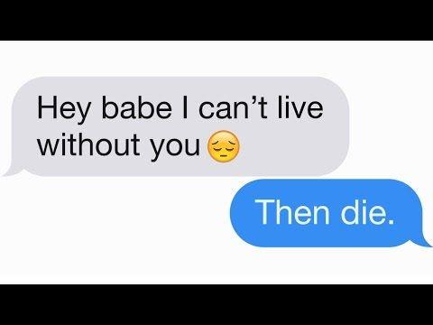 flirt guy over text messaging