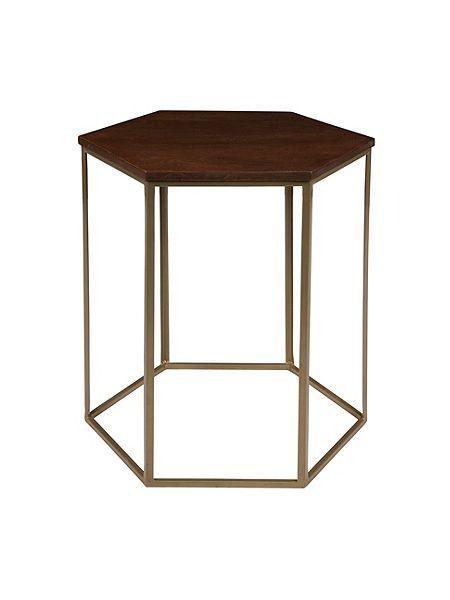 Cleo Hexagonal Side Table 210 Side Table Table Home Decor
