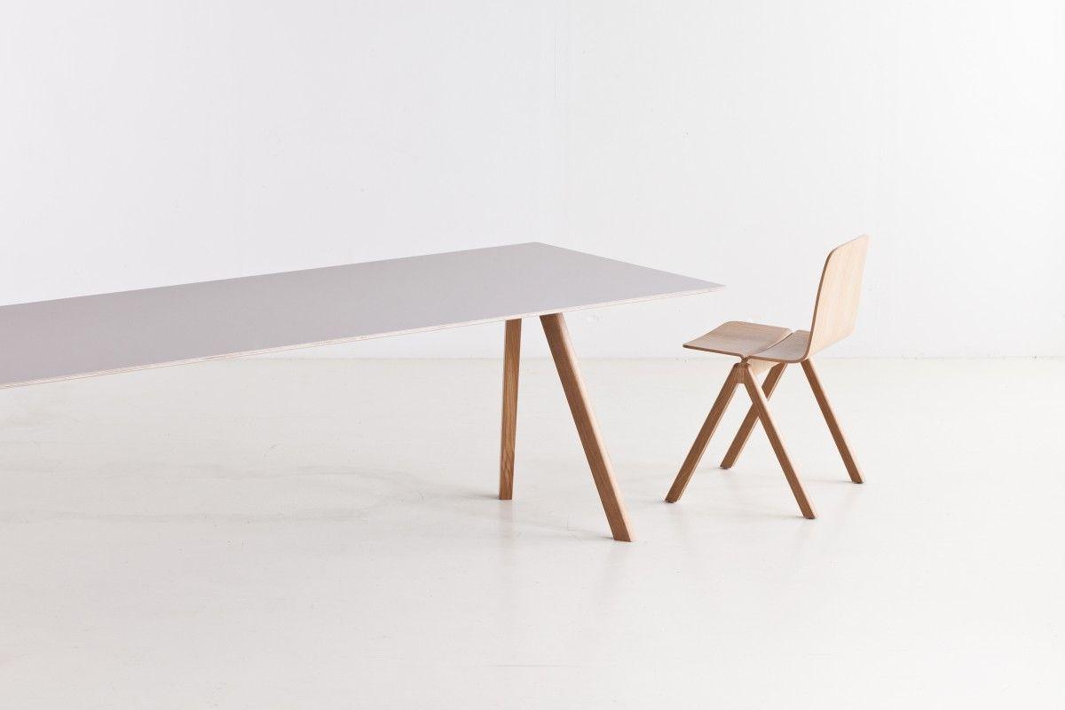Hay Copenhague Tafel : Hay copenhague tafel cph gelakt eiken dining chairs