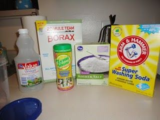 Laundry and dishwasher detergent recipes