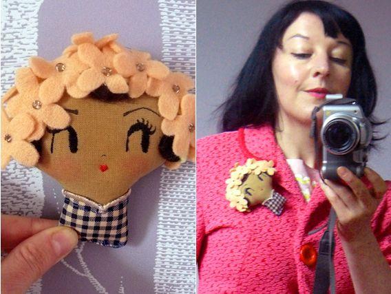 Curious pip: Hey Doll Face!