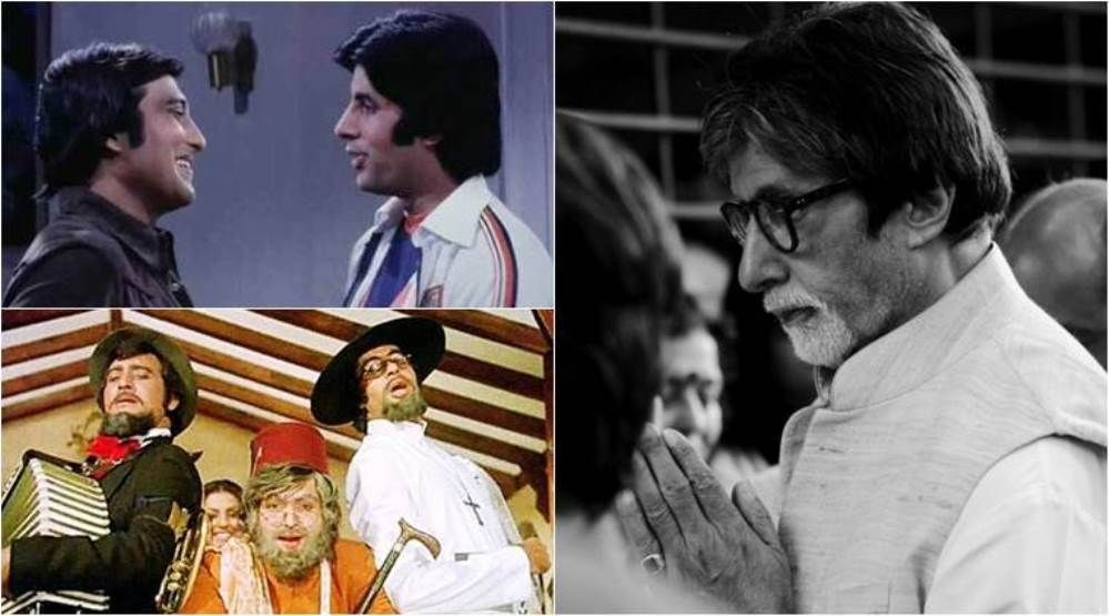 Amitabh Bachchan MOURNS the death of friend Vinod Khanna! Saw our 48 year  relationship going up in FLAMES!