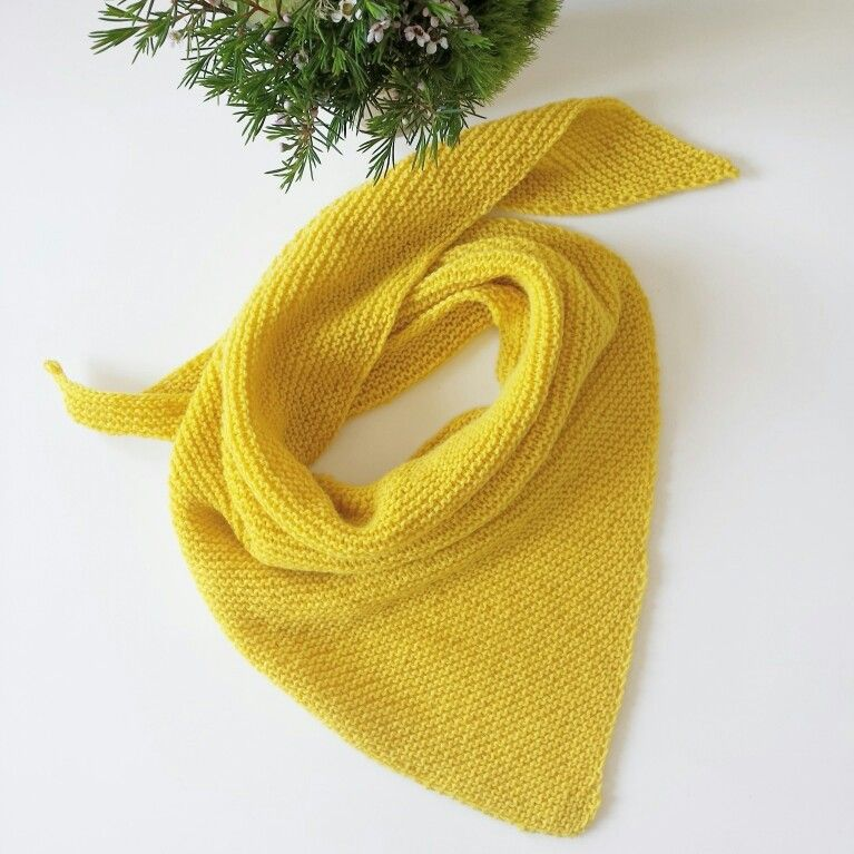 kit tricot trendy chale