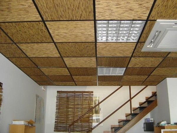 Falso techo para casas Decoracin Pinterest Falso techo Como