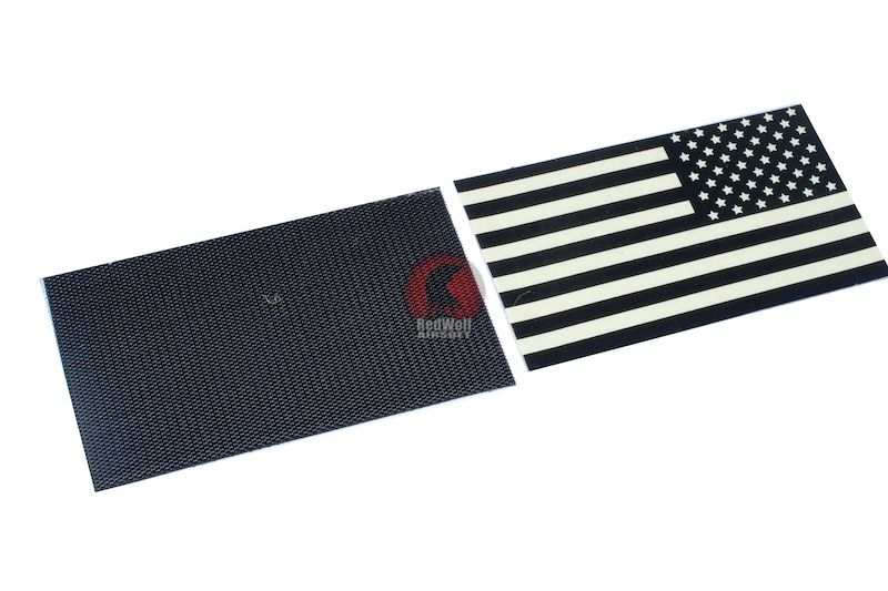 Authentic Us Military Ir Infrared Reflective Forward Us Flag Hook Loop Patch Us Flag Patches Hook Loop