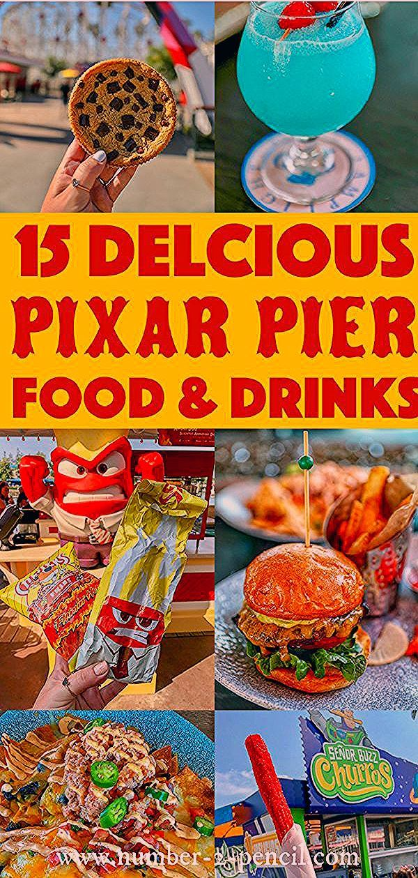Photo of 15 Delicious Disneyland Pixar Pier Food & Drinks