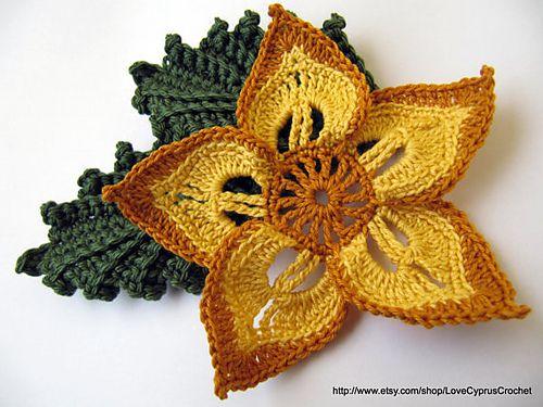 Ravelry Beautiful Flower Pattern Pattern By Lyubava Crochet Otros