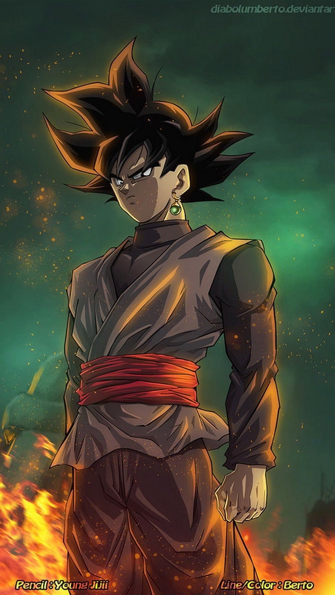 Wallpaper Android Black Goku Best Android Wallpapers