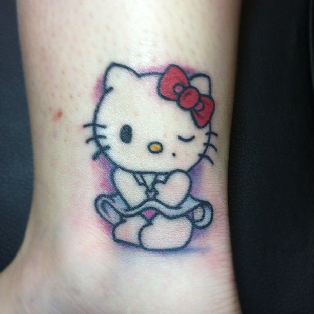 Pin By Angelica On HELLO KITTY TATTOOS