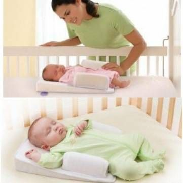 Sensible Baby Pillow Correct Sleeping Position Rollover Prevention Mattress Cotton Baby Styling Pillow Infant Protection Cushion Headrest Baby Bedding