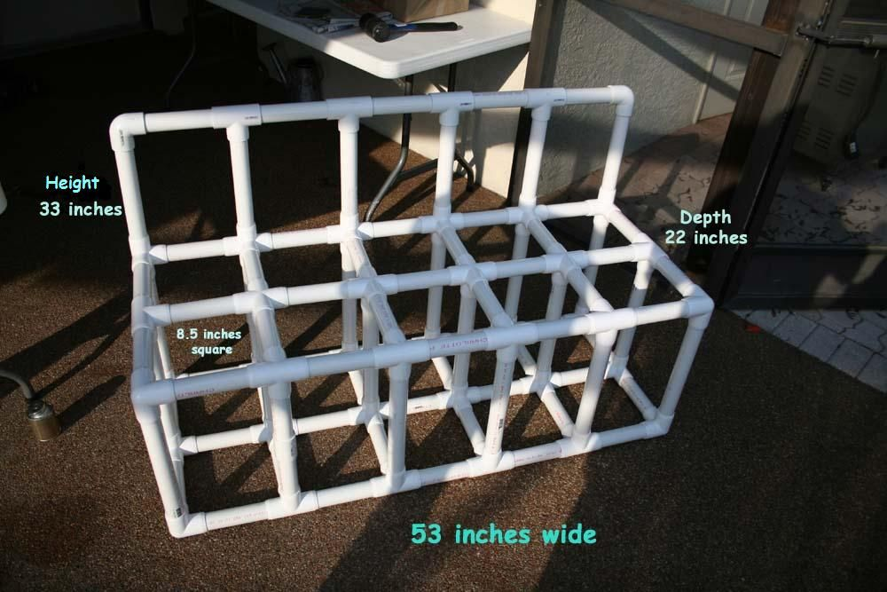 Build A Pvc Scuba Tank Rack Scuba Pinterest Scubas