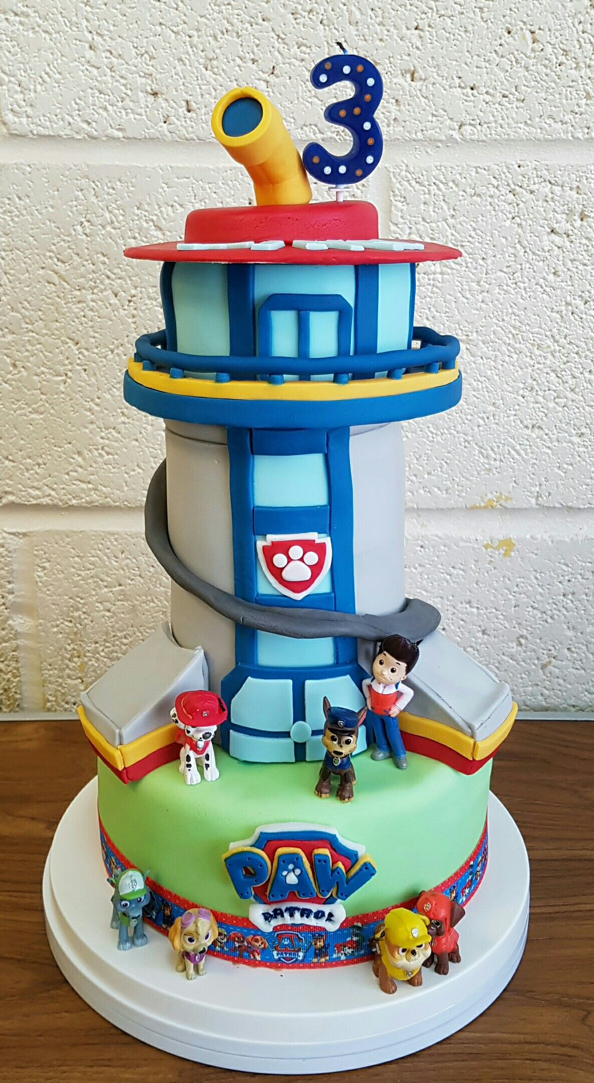 Paw Patrol Lookout Birthday Cake Birthday Party Ideas In