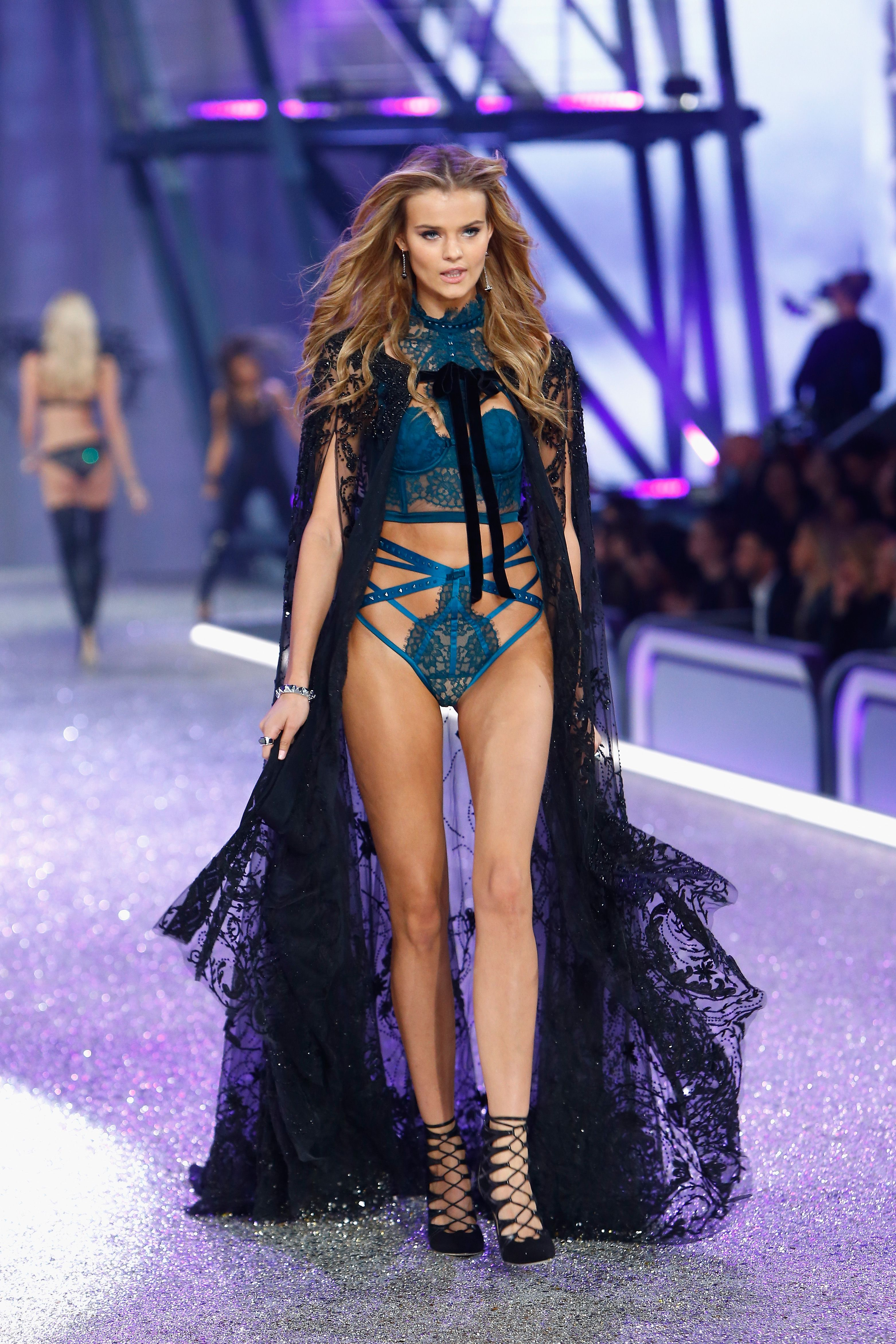 67770ab9c8 Secret Angel  Model Kate Grigorieva in Victoria s Secret Designer  Collection strappy balconet and matching high