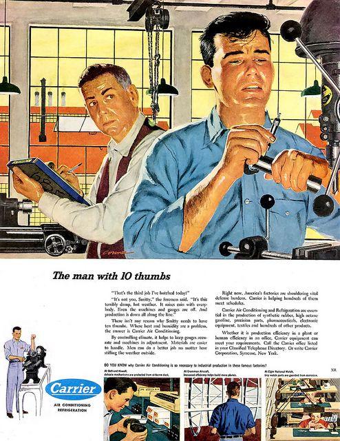 1951 ... drill press in Hell !