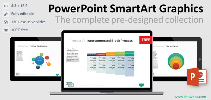 Powerpoint Smartart Graphics The Complete Collection Charts