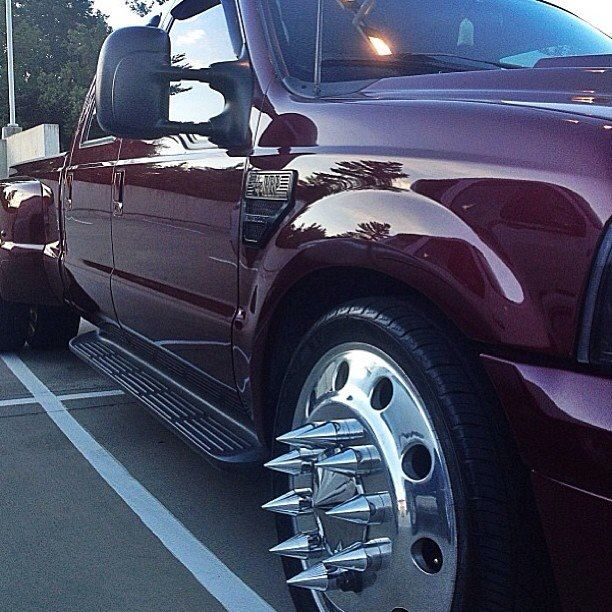 Wheels Spikes Ford Pinterest Nice Wheels And Spikes