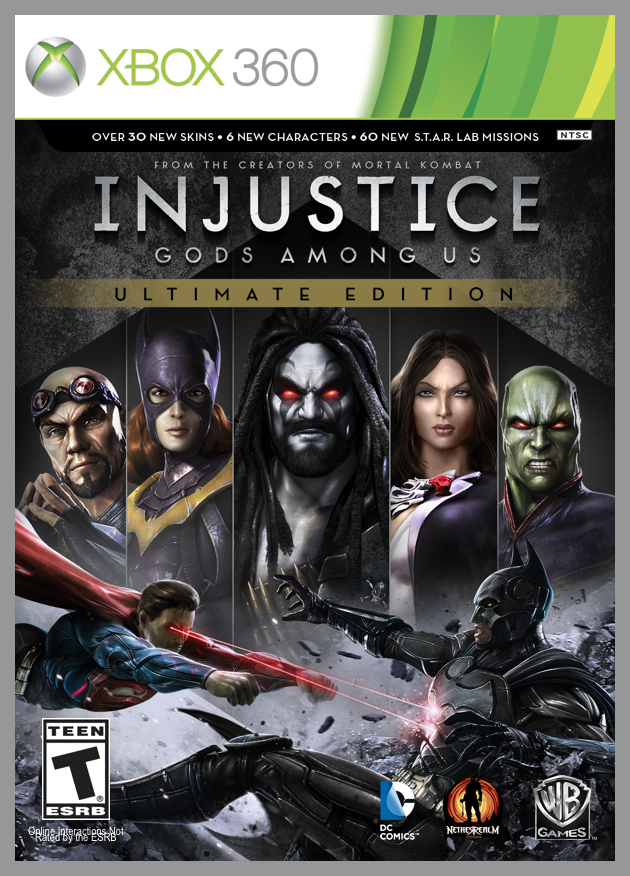 'Injustice Gods Among Us' Ultimate Edition Coming In