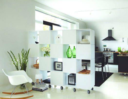 Separadores de ambiente para todos los gustos hogar y estilo muebles y armarios pinterest - Estanterias separadoras de ambientes ...