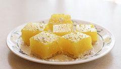 Vegan lemon bars, for when I run out of eggs