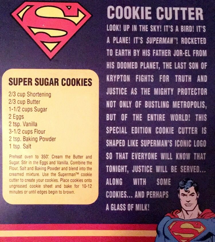Super Sugar Cookies.