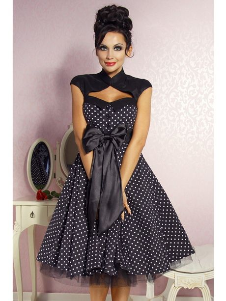 989f8cba5e94c0 Robe pin up rockabilly | PEELÅNA-HE SPLIT :﹊ | Robes pin up, Robe à ...