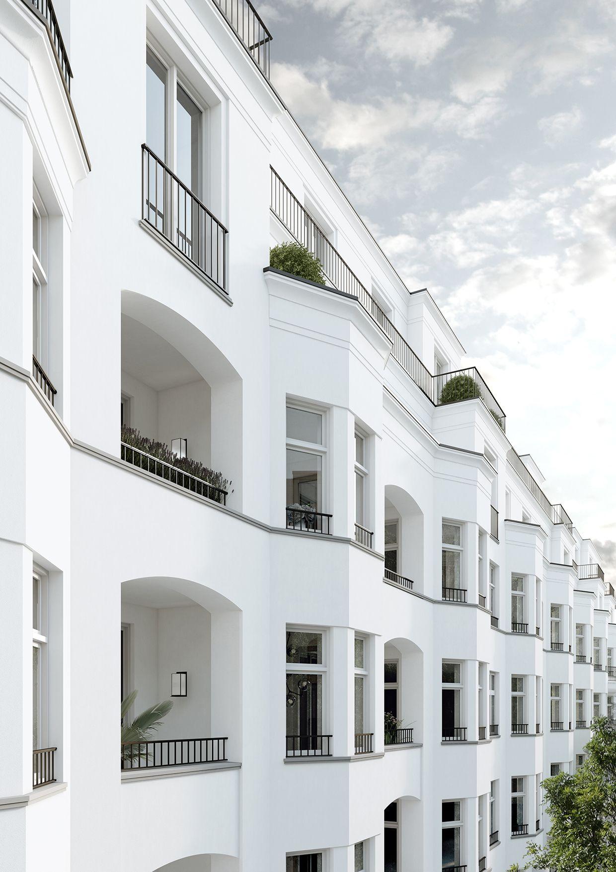Wohnhaus mit 54 Wohneinheiten in Berlin Charlottenburg ...