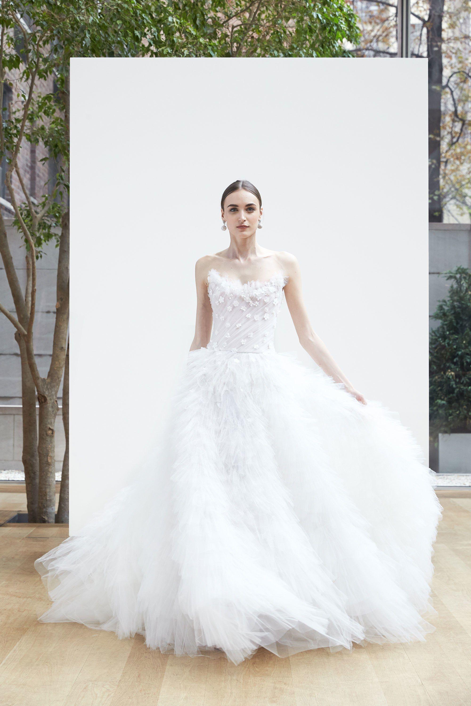 Oscar de la renta bridal spring fashion show oscar de la