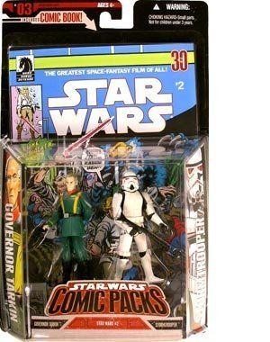 Hasbro Star Wars 3.75 Expanded Universe Storm Trooper /& Governor Tarkin