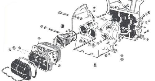 Type 1 Vw Engine Diagram Wiring Diagrams Image Free