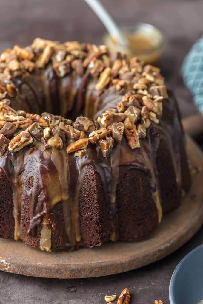 Brownie Cake Recipe - Turtle Cake - Chocolate Brownie Cake (VIDEO!!)