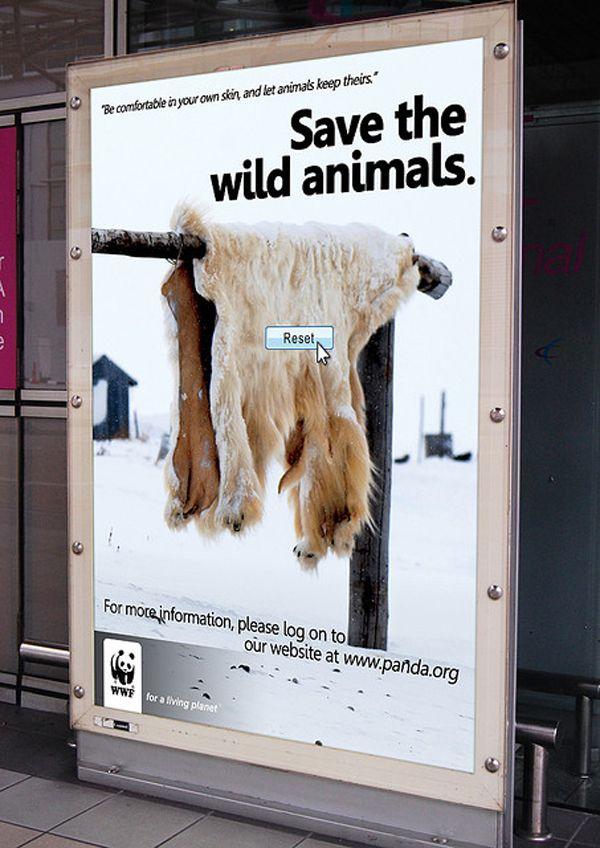 Os 50 anúncios mais criativos para salvar o planeta | Coletivo Verde