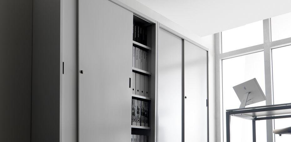 Armadio Metallico Per Ufficio.Armadi In Metallo Per L Archiviazione Pareti Divisorie Per