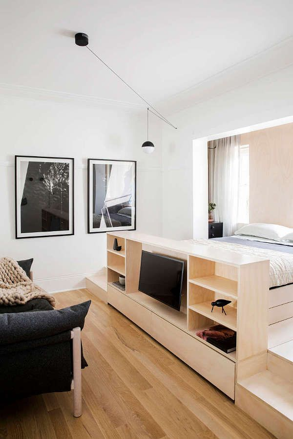 A Tiny 22 Sqm Art Deco Studio Apartment In Inner City Sydney Has Been Transformed Into