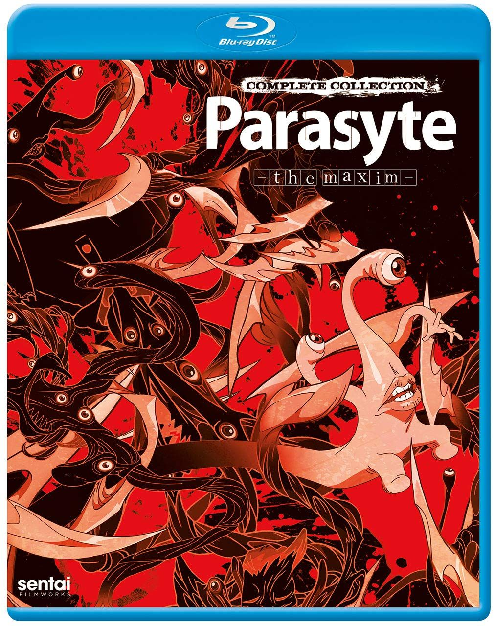 Parasyte The Maxim Complete Collection Blu Ray Ad Complete Aff Maxim Parasyte In 2020 Parasyte The Maxim Blu Ray Complete Collection