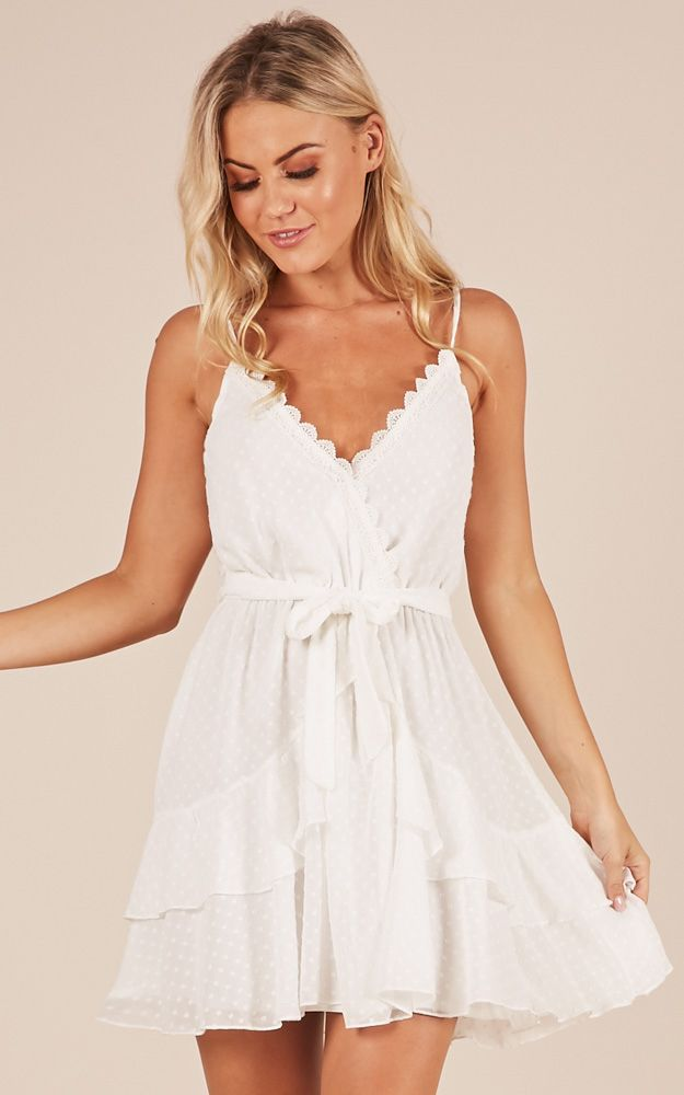0808065373d One Of A Kind Dress In White in 2019 | Graduation outfit | Dresses ...