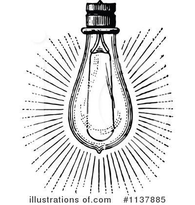 edison light bulb illustration - Google Search | Light ...