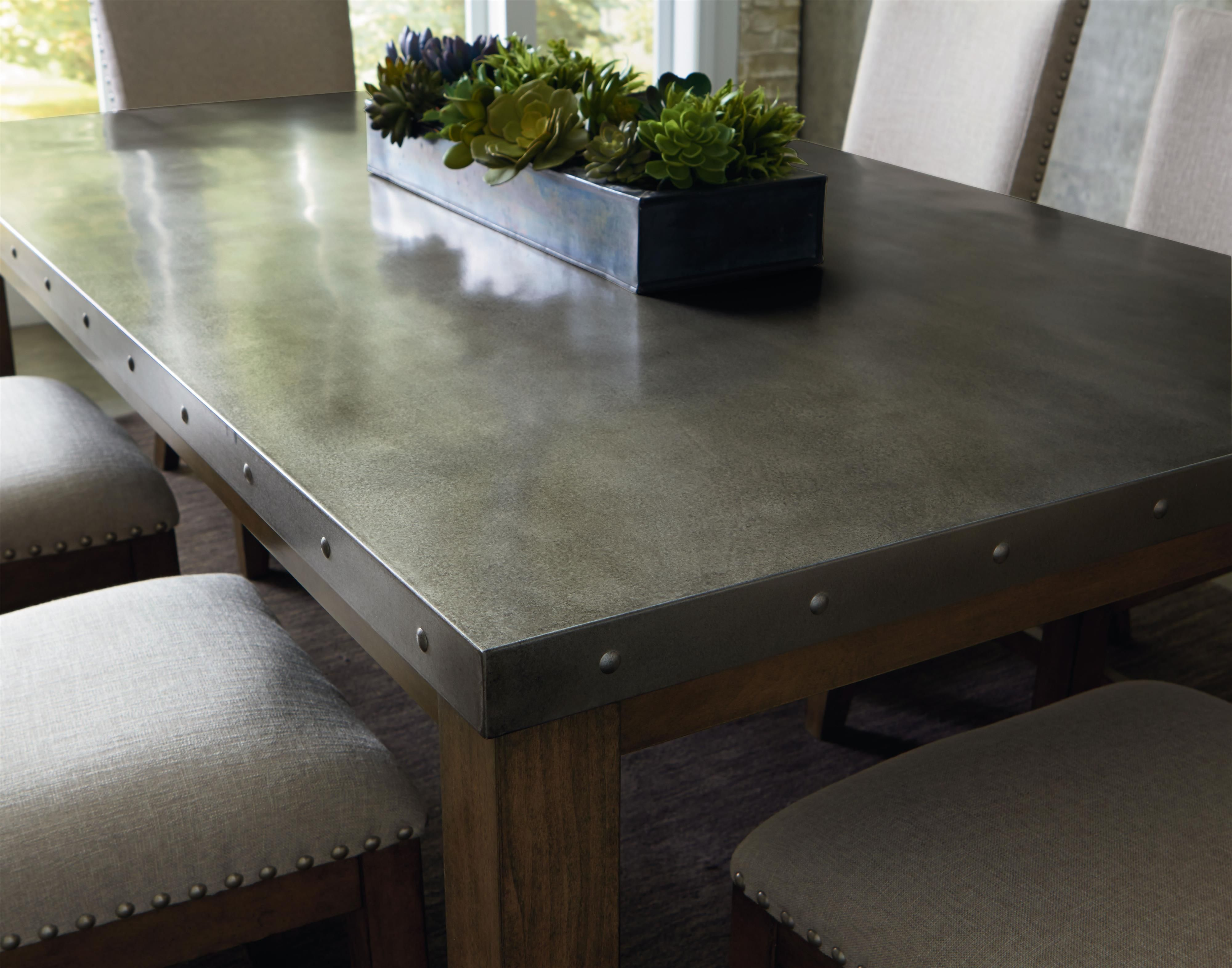 Metal Dining Room Tables Unique Riverton Stainless Steel Top