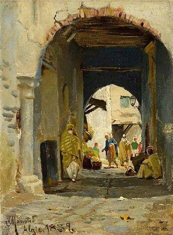 Alger Algérie algeria peinture enregistré par adel Hafsi   Art historique, Peinture orientaliste ...