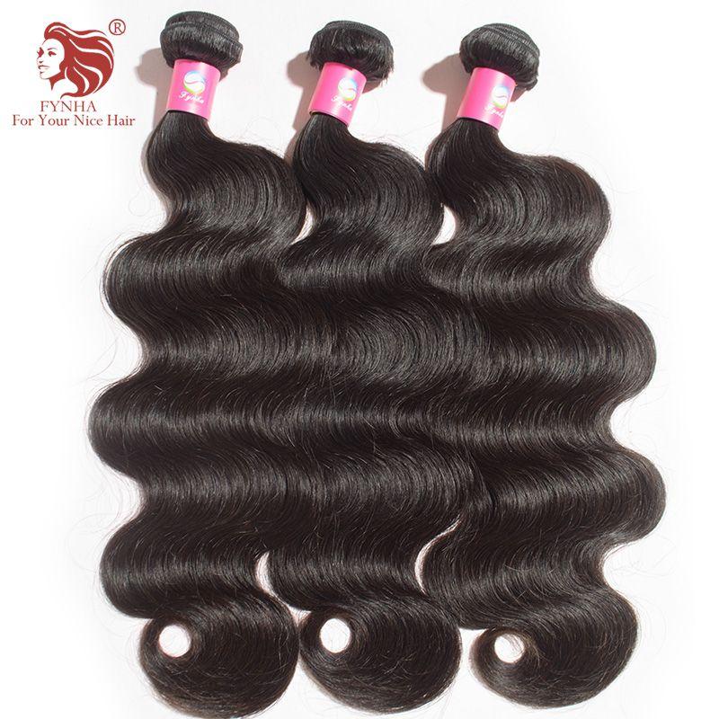 3 teile/los malaysische körperwelle menschenhaar spinnt hohe qualität Grade 6A Reines unverarbeitetes Haar Extensions 8-36 ''dhl-freies verschiffen