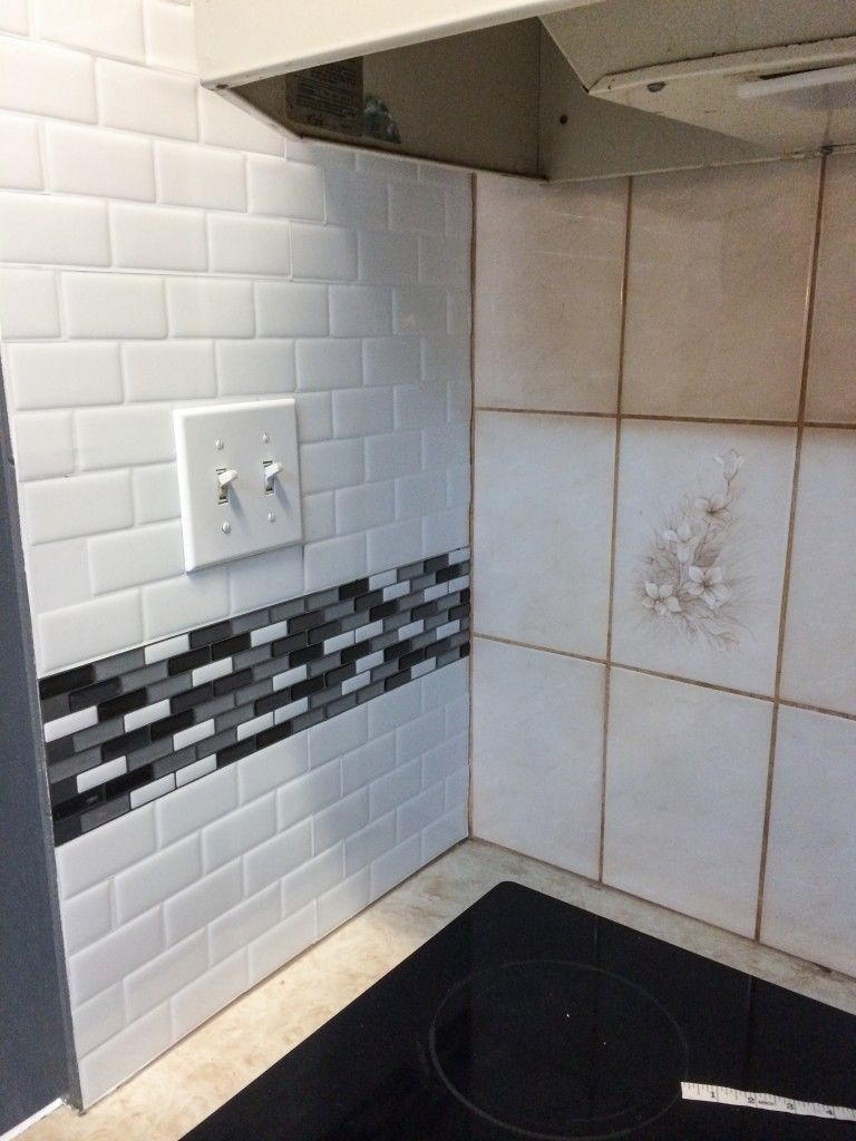 Smart tiles review update your backsplash the easy way models youre going to tile over the existing tiles yes you heard dailygadgetfo Choice Image