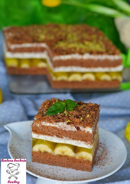 Szalona Kuchnia Eweliny Jamajka Czyli Orzezwiajace Ciasto Z Bananami Desserts Food Food And Drink